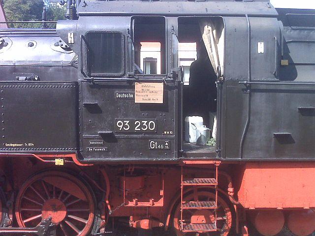 Überführung der 93 230 vom VM Dresden zum Museum Dieringhausen 610