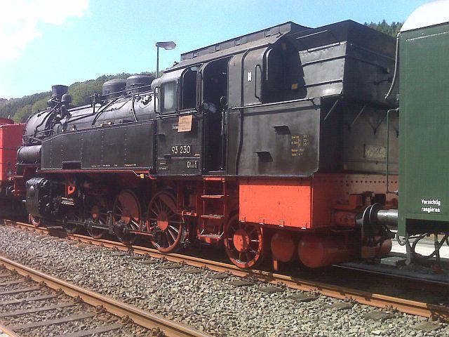 Überführung der 93 230 vom VM Dresden zum Museum Dieringhausen 910