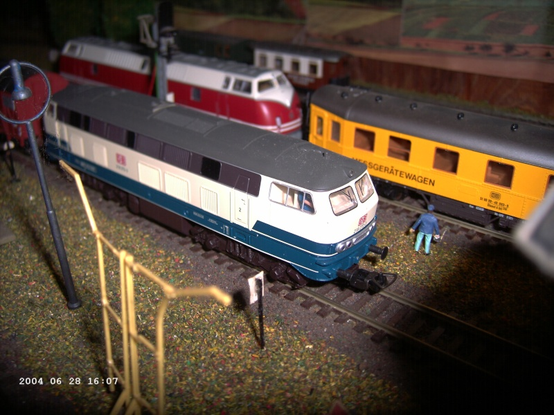 Piko H0 - Hobby-Lok BR 218 Blau-beige DB AG Pict1211