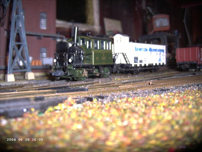 Roco-H0 Bayr. Glaskasten - Baureihe 98.3 Pict1212