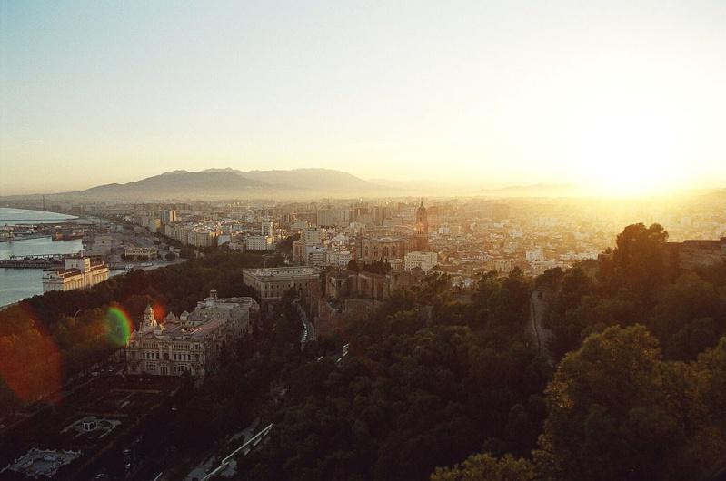 La ville de Malaga Malaga10
