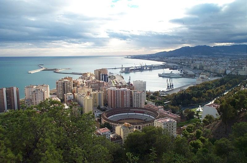 La ville de Malaga Malaga11