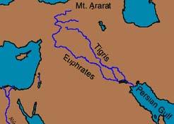 A localização do Éden Mapa_e10