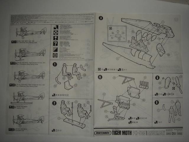 """[Matchbox]DH-82A/C """"TIGER MOTH"""" Dsc04827"""