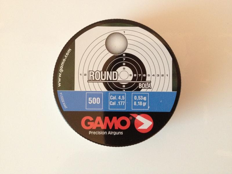 Plombs Gamo Round dans Zoraki HP-01 Img_1111