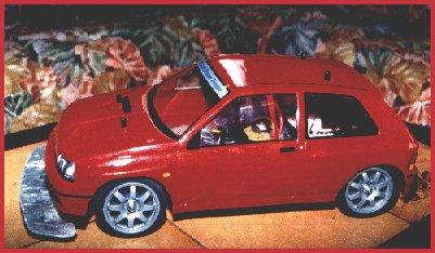 Voitures télécommandées Clio10