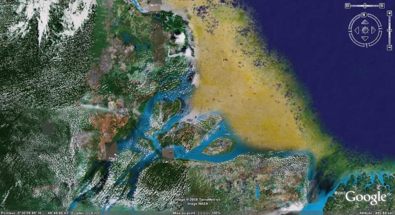 L'estuaire de l'Amazone : beau et surprenant à plus d'un titre ! Estuai10