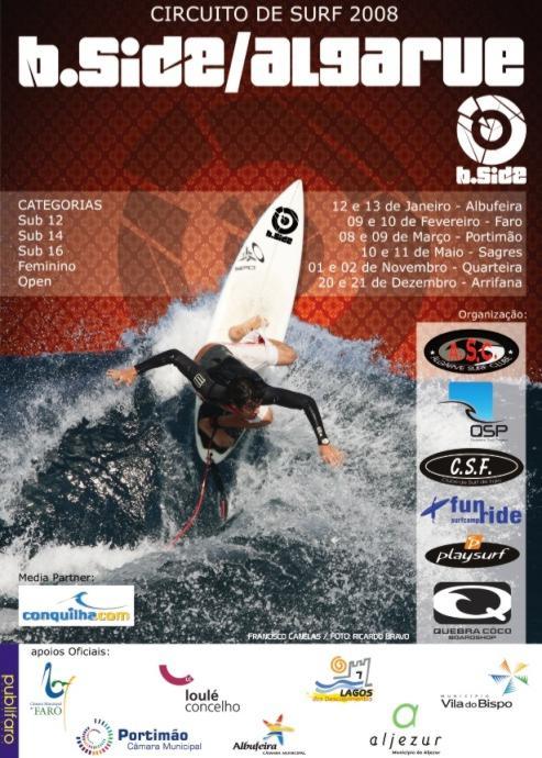 Informação relativa à 2ª Etapa - Clube de Surf de Faro Cartaz10