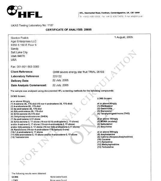 CERTIFICADOS HFL Hfl20o10