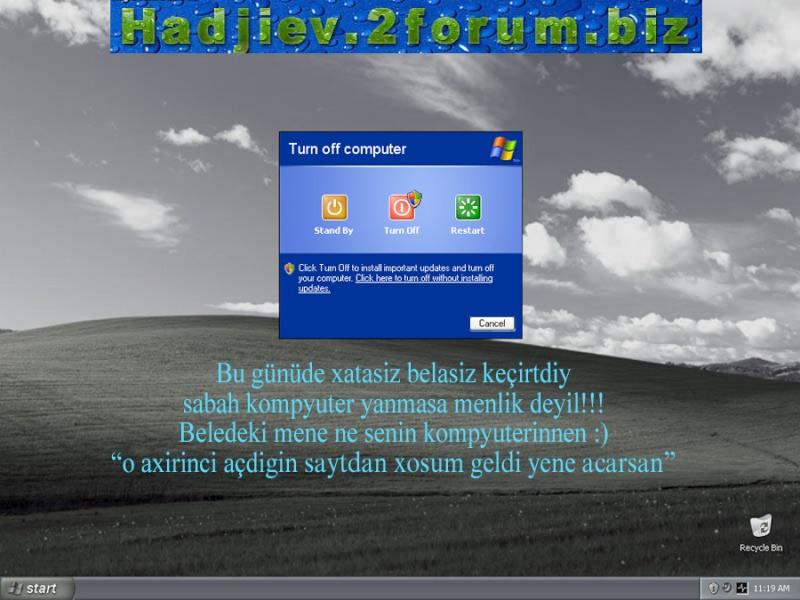 Kompyuterimin dili varmiş  :) 210