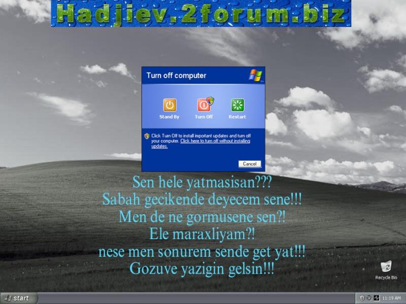 Kompyuterimin dili varmiş  :) 310