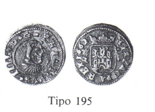 4 Maravedis de Felipe IV (Coruña, 1661 d.C) Calico11