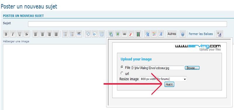 Comment insérer une image? Img510