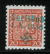 sudetenland - Einführung in das Gebiet Sudetenland-Briefmarken Karlsb17