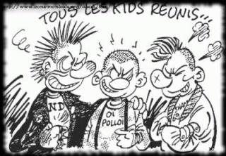 Punks & Skinheads