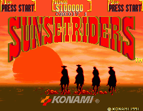 [SUNSET RIDERS] Ranking Sunset11