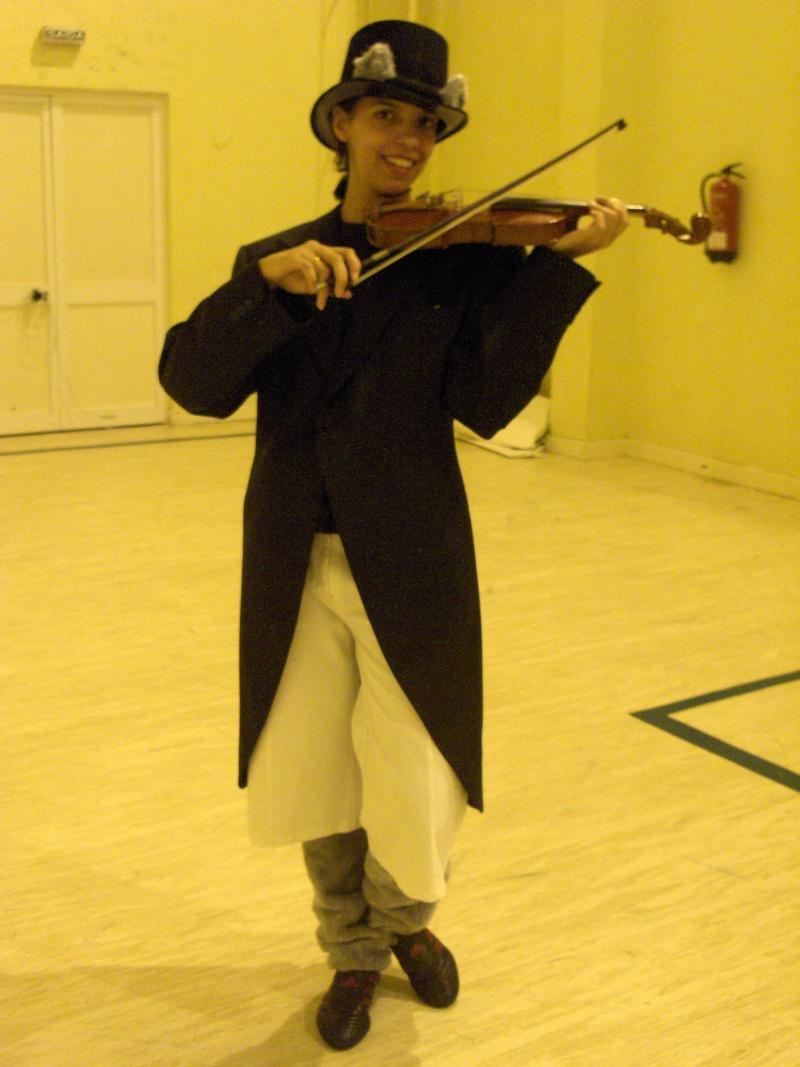 o Gato violinista Fura2010