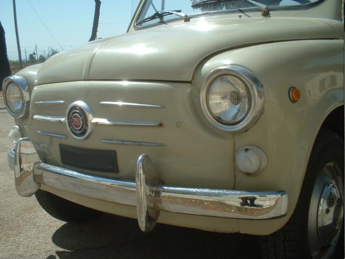 MODANATURA COFANO Fiat 600