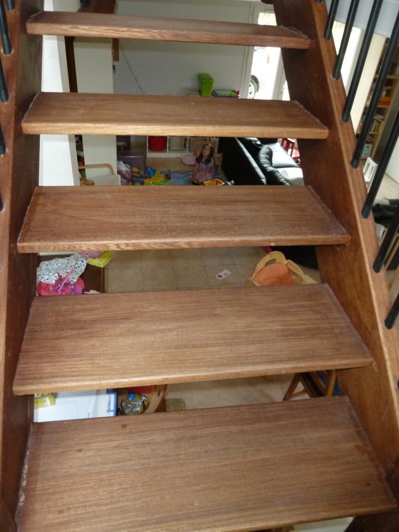 Récupérer ou redécorer un escalier bois P1030915