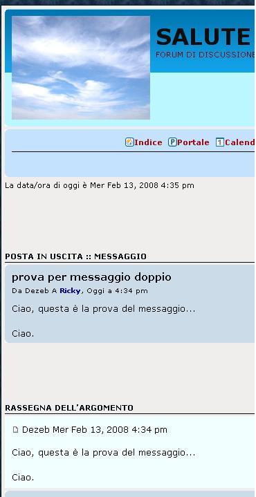 Help, messaggi privati Pvt211