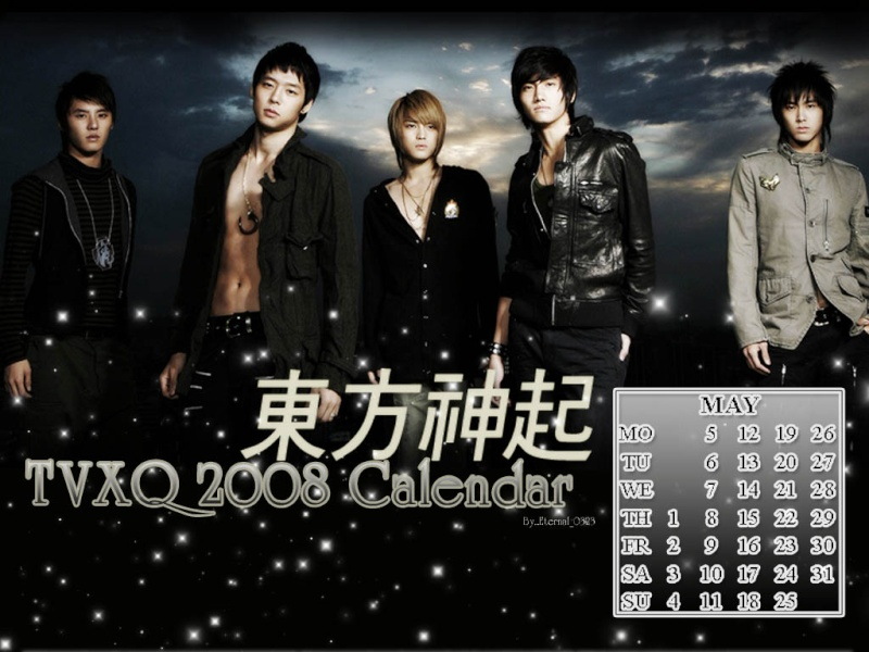 calendar TVXQ 2008,march 01435810