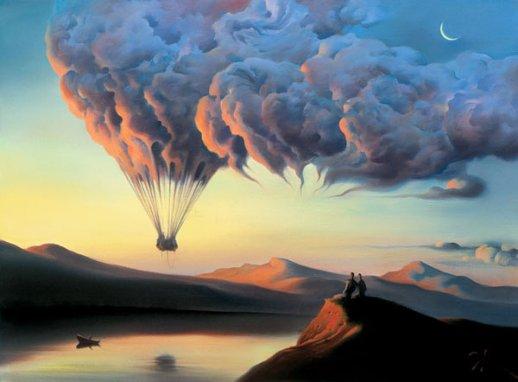Vladimir Kush - Surrealismo e Ilusão Vladim11