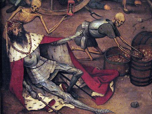 El triunfo de la muerte y la peste negra. 71924210