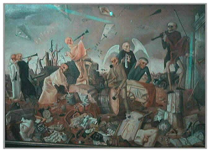 El triunfo de la muerte y la peste negra. Felix_10