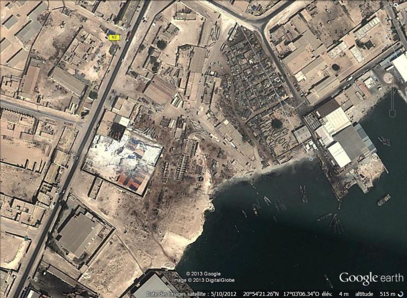 Port de Port Etiènne - Mauritanie Seiche10