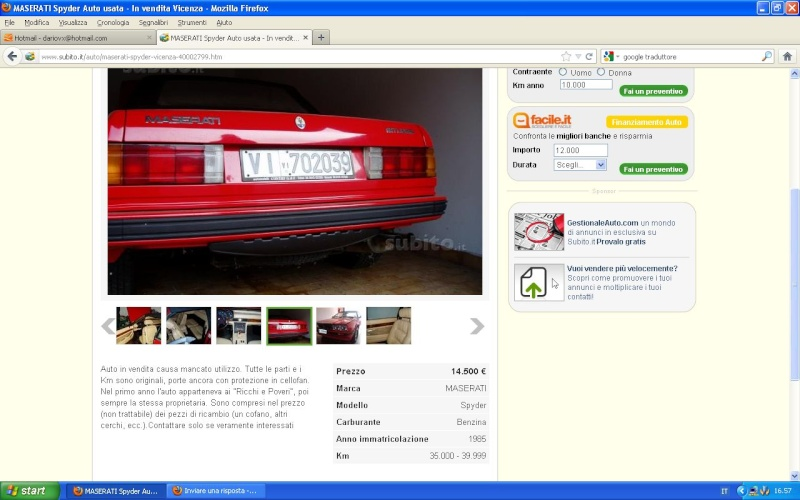 Quotazioni Maserati - Pagina 2 Riccip10
