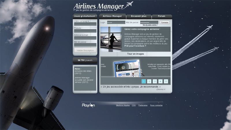 Airlines Manager simulateur de compagnie aérienne Am_00110