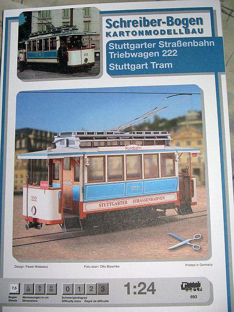 Im Auftrag des Schreiber- Museums Esslingen.....Stuttgarter Straßenbahn  Ssb0110