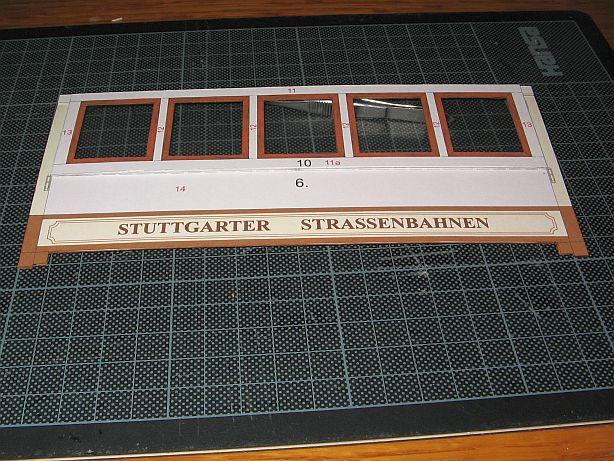 Im Auftrag des Schreiber- Museums Esslingen.....Stuttgarter Straßenbahn  Ssb0610