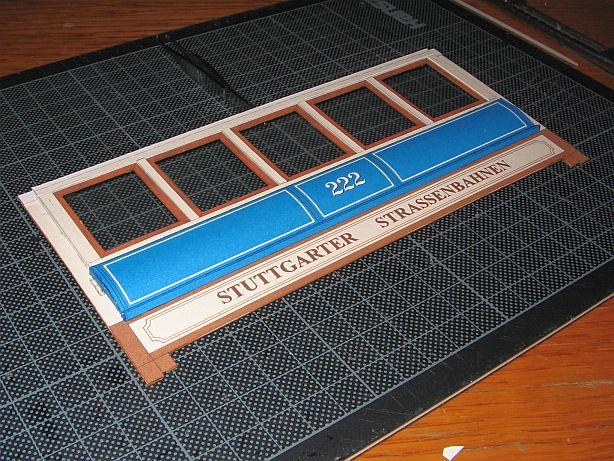 Im Auftrag des Schreiber- Museums Esslingen.....Stuttgarter Straßenbahn  Ssb0710