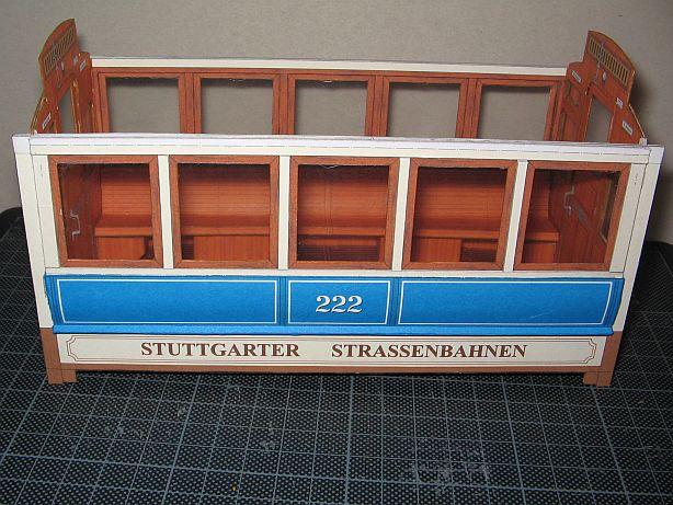 Im Auftrag des Schreiber- Museums Esslingen.....Stuttgarter Straßenbahn  Ssb1110