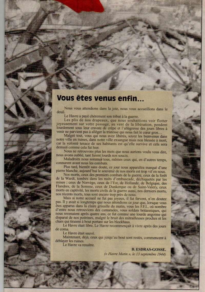 1944 - Bombardements, Destruction sémaphore, Phares, Digue Sud, Tunnel Jenner, Chaos ... 13_sep10
