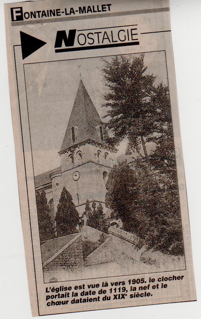 Histoire des communes - Fontaine-la-Mallet Fontai12