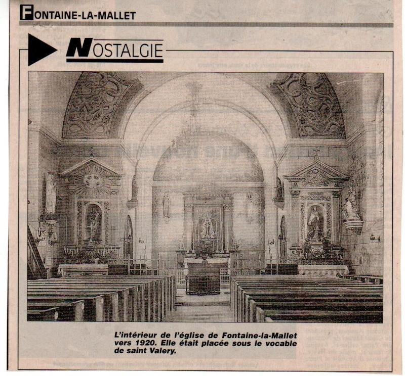 Histoire des communes - Fontaine-la-Mallet Fontai13