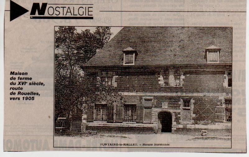 Histoire des communes - Fontaine-la-Mallet Fontai15