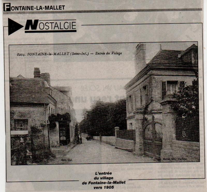 Histoire des communes - Fontaine-la-Mallet Fontai16