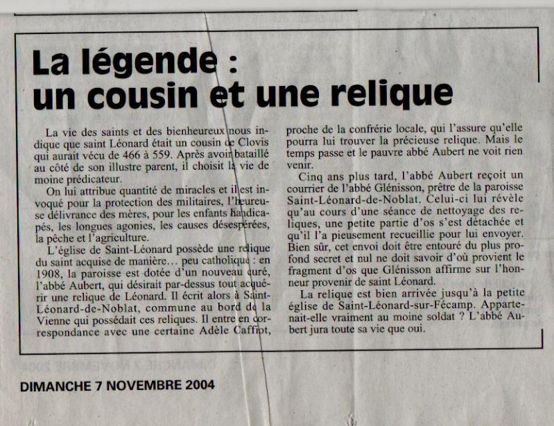 Histoire des communes - Saint-Léonard Saint-14