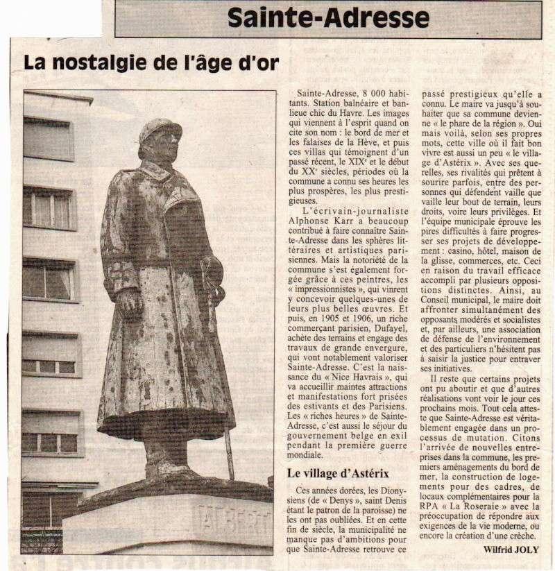Histoires des communes - Sainte-Adresse Sainte10
