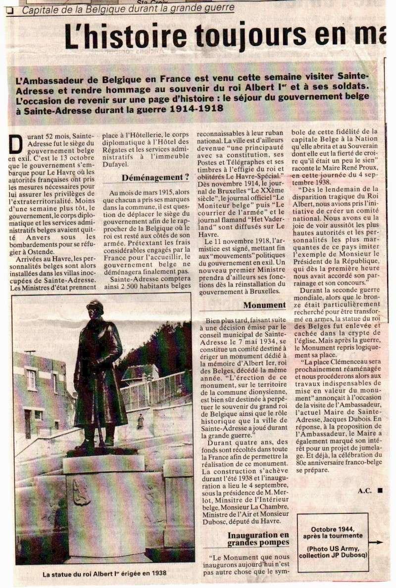 Histoires des communes - Sainte-Adresse Sainte11