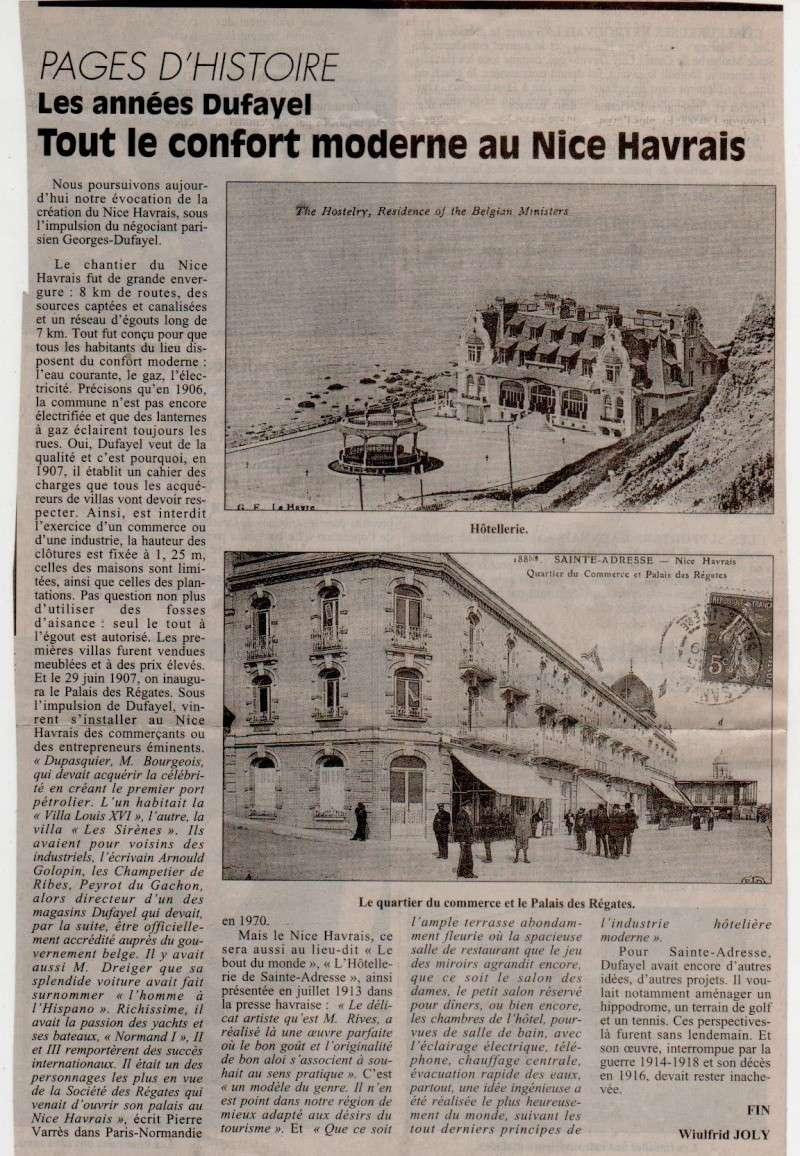 Histoires des communes - Sainte-Adresse Sainte17