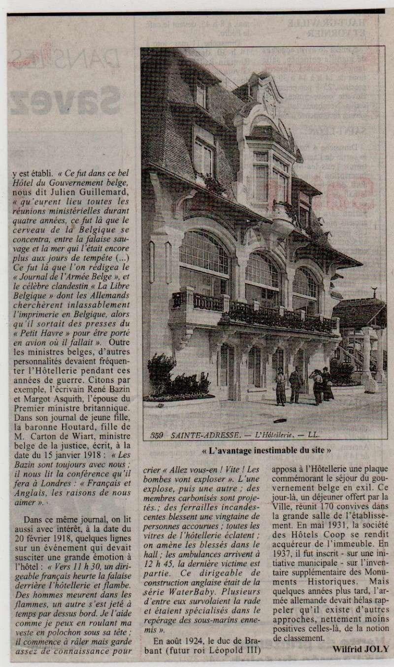 Histoires des communes - Sainte-Adresse Sainte19