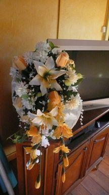 confection d'un bouquet de mariée P1010713