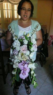 confection d'un bouquet de mariée P1010810