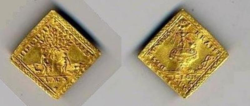 Alemania - moneda  Klippe de Oro Moneda11