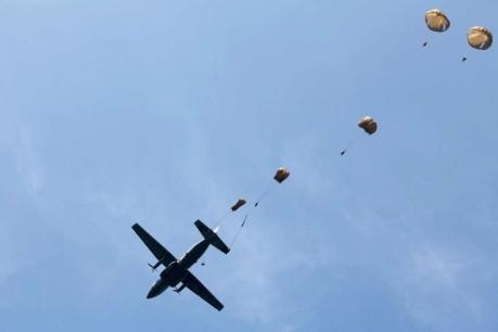 11ème Brigade Parachutiste - Exercice Interalliés COLIBRI septembre 2012 800-pa10