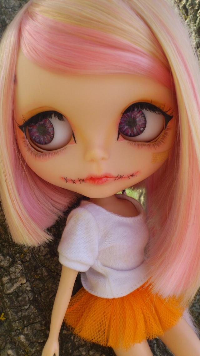 ♥ Skully ♥ s'incruste au pic nic ![BLYTHE en cour de custom] Dsc_0813